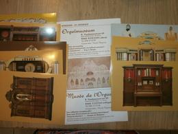 COXYDE  Musée De L'orgue Lot De 10 Cartes - Museum