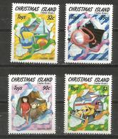 Christmas Island - 1988 Christmas MNH **    Sc 222-5 - Christmas Island