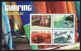 2013 - Australian SURFING Minisheet Minature Sheet MNH - Blocks & Sheetlets