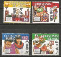 Christmas Island - 1989 Year Of The Snake MNH **    Sc 226-9 - Christmas Island