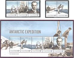 Antarctique Australien: Yvert N°  214/218 + BF 14°; Cote 28.00 - Australisches Antarktis-Territorium (AAT)