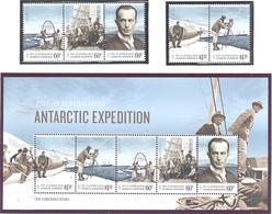 Antarctique Australien: Yvert N°  214/218 + BF 14°; Cote 28.00 - Unused Stamps