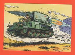 PL/8  HUMOUR J MAEZELLE ILLUSTRATEUR JEAN POL / Militaire Char - Illustratoren & Fotografen