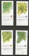 Christmas Island - 1989 Ferns MNH **    Sc 238-41 - Christmas Island