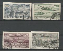 A01087)Polen 728 B - 731 B Gest. - 1944-.... République