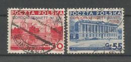 A01242)Polen 313 - 314 Gest. - 1919-1939 République