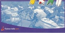 TOUR DE FRANCE 2001/TICKETS FRANCE TELECOM SERIE LIMITEE (dil372) - Schede Telefoniche