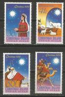 Christmas Island - 1989 Christmas MNH **    Sc 242-5 - Christmas Island