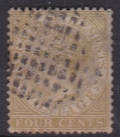 Malaysia-Straits Settlements SG 64 1883 Queen Victoria 4c Brown, Used - Straits Settlements