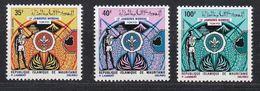 Mauritania 1971 13th World Boy Scout Jamboree Japan Tokyo Organizations Scouting Celebrations Stamps MNH - Mauritania (1960-...)