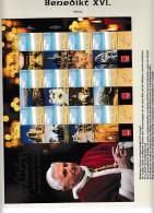 A01843)Benedikt 16., Israel Papstreise 2 Bögen** - Papes