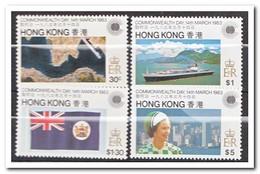 Hong Kong 1983, Postfris MNH, Commonwealth Day - 1997-... Région Administrative Chinoise