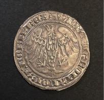 """. Luxembourg - """"Gans"""" (Gros) - Wenceslas II - 1ière Période 1383 - 1388 (L163-1 / Weiller 154) - Luxembourg"""