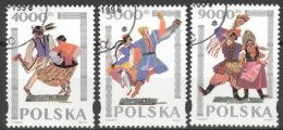 Polen 3490/92 O - 1944-.... Republic