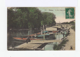 Poissy. Le Bras Migneaux. Barques, Pêcheurs. (2922) - Poissy