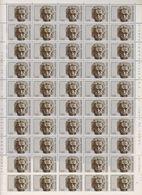 San Marino 1979 Albert Einstein 1v Sheetlet Of 50 (shtlt Is 1x Folded)  ** Mnh (F7123) - San Marino