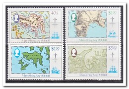 Hong Kong 1984, Postfris MNH, Maps - 1997-... Région Administrative Chinoise