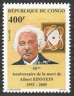 "Congo YT 1110 "" Albert Einstein "" 2005 Neuf** - Nuevas/fijasellos"