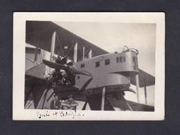 Photo Originale  Hydravion à Identifier  Aviation Maritime Karouba Bizerte Tunisie - Aviation