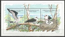 Christmas Island - 1990 Abbott's Booby (WWF) S/sheet MNH **    Sc 274 - Christmas Island