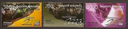 Indonesia 1998 International Stamp Exhibition Minerals Stone Nature Rock Mining Geology Crystal Stamps MNH - Geology