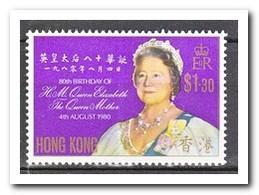 Hong Kong 1980, Postfris MNH, 80 Birthday Queenmother Elisabeth - 1997-... Région Administrative Chinoise