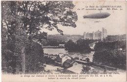 60. PIERREFONDS. Le Raid Du Clément-Bayard (dirigeable) - Pierrefonds