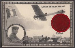 Hubert Latham - Douai - Circuit De L'Est - Aout 1910 - Autres