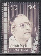 INDIA 2018  B  NAGI REDDY, Film Producer, Cinema, 1v, MNH (**) - India