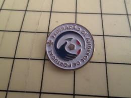 Pin715a : Pin's Pins / RARE & BELLE QUALITE / THEME : SPORTS / HAND-BALL  FEDERACAO DE ANDEBOL DE PORTUGAL - Handball