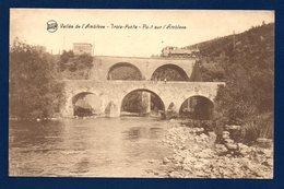 Trois - Ponts. Pont Ferroviaire Sur L'Amblève. Locomotive. - Trois-Ponts