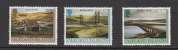 2000 Falkland Islands Bridges  Complete Set Of 3 MNH - Falkland Islands