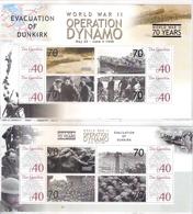 2 Superbes Blocs -L'Opération Dynamo - L'Evacuation De Dunkerque - XX/MNH - WO2