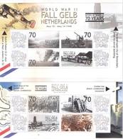 2 Superbes Blocs -L'Opération Fall Gelb - Les Pays-Bas - XX/MNH - WO2