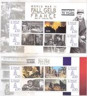 2 Superbes Blocs -L'Opération Fall Gelb - France - XX/MNH - Guerre Mondiale (Seconde)