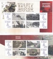 2 Superbes Blocs -  La Bataille De Moscou - XX/MNH - WO2