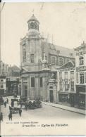Bruxelles - Brussel - Eglise Du Finistère - D.V.D. 10311 Papeterie Hianne - Chaussures Benedix - 1910 - Monuments, édifices