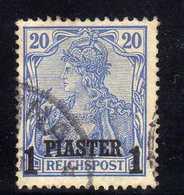 Deutsche Post In Türkei Mi 14 II, Gestempelt [020618LAII] - Bureau: Turquie