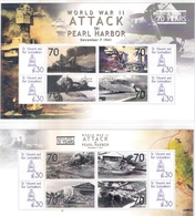 2 Superbes Blocs -  L'Attaque Sur Pearl Harbor - XX/MNH - WO2