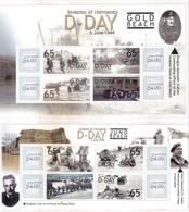 2 Superbes Blocs -  D-Day - L'Invasion De Normandie - XX/MNH - WO2