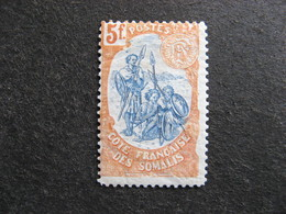 Cote Des Somalis: TB N° 52, Neuf X. - Côte Française Des Somalis (1894-1967)