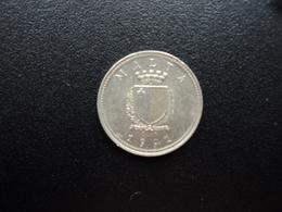 MALTE : 2 CENTS  1991   KM 94    SUP+ - Malte