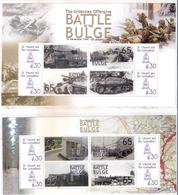 2 Superbes Blocs - La Bataille Des Ardennes - XX/MNH - WO2