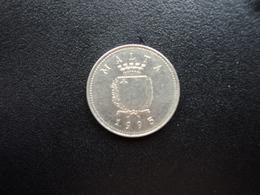 MALTE : 2 CENTS  1995   KM 94    SUP+ - Malte