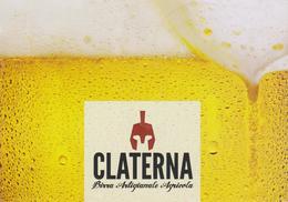 Birra Artgianale Agricola Claterna, Promocard (fronte E Retro) - Altre Collezioni