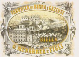 Birra Menabrea Cartolina - Altre Collezioni