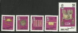 BRUNEI 1981  ROYAL REGALIA SET MNH(see Scan) - Brunei (1984-...)