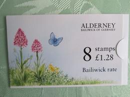 Carnet Alderney  Papillon - Alderney