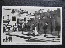 AK MALTA Valletta 1935 Postaly Used! YMCA Club //  D*32227 - Malta