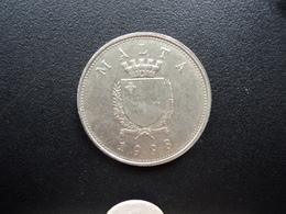 MALTE : 25 CENTS   1998   KM 97   SUP - Malte